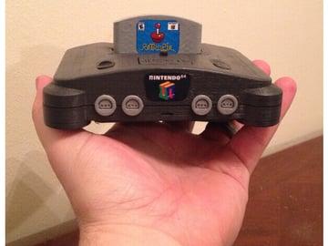 Image of Retropie-Gehäuse zum 3D-drucken für Raspberry Pi (Handheld)-Konsolen: Pi64 (Raspberry Pi Mini N64 Gehäuse)
