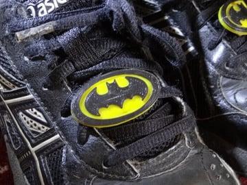 Image of Batman 3D Logos And Symbols: Shoelace Badge