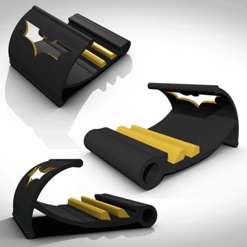 Image of Batman 3D Logos And Symbols: Tablet Support