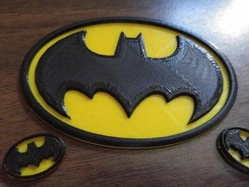 Image of Batman 3D Logos And Symbols: 1989 Classic Logo