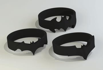 Image of Batman 3D Logos And Symbols: Rings