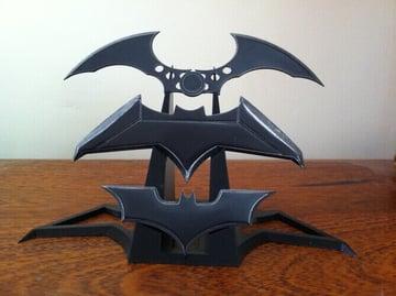 Image of Batman 3D Logos And Symbols: Batarang Display