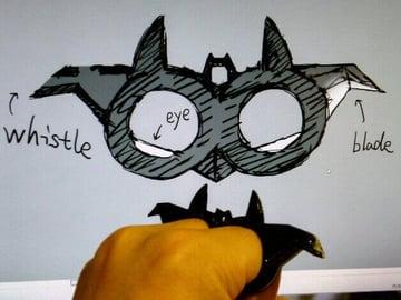 Image of Batman 3D Logos And Symbols: Mutli-Purpose Finger Tool
