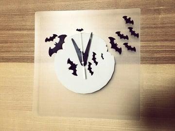 Image of Batman 3D Logos And Symbols: Bat Clock