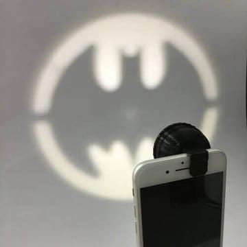 Image of Batman 3D Logos And Symbols: Pocket Bat Signal
