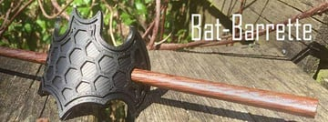 Image of Batman 3D Logos And Symbols: Bat-barrette