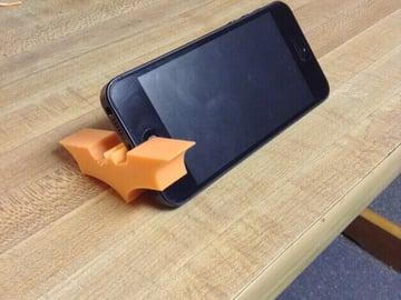 Image of Batman 3D Logos And Symbols: Smart Phone Holder