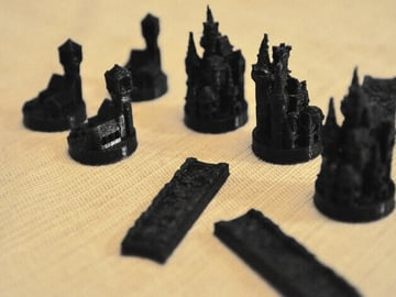 Image of Great Ideas For 3D Settlers of Catan to 3D Print: Medieval Player Set