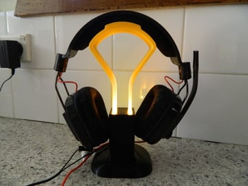Image of Best Headphone Stand: Light-Up Headset Stand