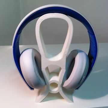 Image of Best Headphone Stand: Three-Part Headset Stand