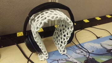 Image of Best Headphone Stand: Omega Headset Stand (Voronoi)