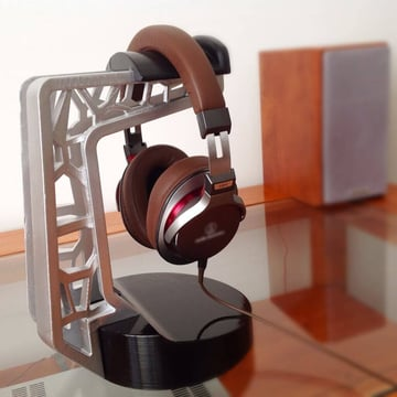 Image of Best Headphone Stand: Voronoi Headset Stand