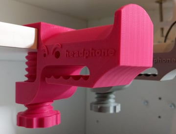 Image of Best Headphone Stand: Monster Mouth Clamp