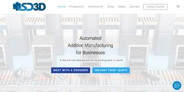Imagen de Servicio de impresión 3D online: SD3D