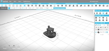 Image of Free Online CAD Software: SelfCAD