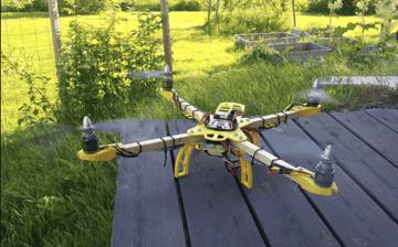 Image de Meilleur projet Raspberry Pi à imprimer en 3D: Quadcopter