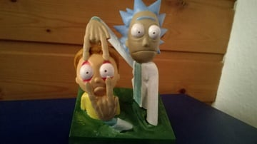 Image of Rick and Morty Toys, Figures & Collectibles to 3D Print: Rick and Morty