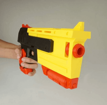 Image of Fallout Props & Toys to 3D Print: 10mm Pistol