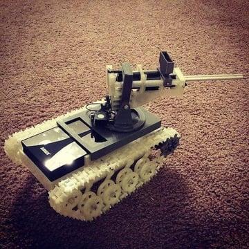 Image de Meilleur projet Raspberry Pi à imprimer en 3D: Cam Tank