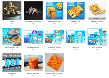 Image of Free STL Files, 3D Printer Files, 3D Printer Models & 3D Printing Designs: 3DKitBash