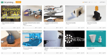 Image of Free STL Files, 3D Printer Files, 3D Printer Models & 3D Printing Designs: Instructables