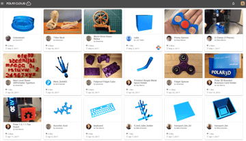 Image of Free STL Files, 3D Printer Files, 3D Printer Models & 3D Printing Designs: Polar Cloud