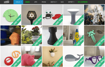 Image of Free STL Files, 3D Printer Files, 3D Printer Models & 3D Printing Designs: 3DShook