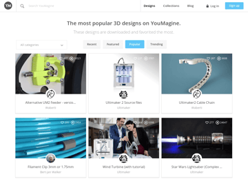 Image of Free STL Files, 3D Printer Files, 3D Printer Models & 3D Printing Designs: YouMagine