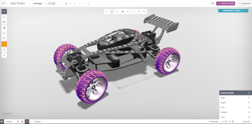 Image of Best Free CAD Software (2D/3D CAD Programs): Vectary