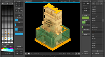 Image of Best Free CAD Software (2D/3D CAD Programs): MagicaVoxel