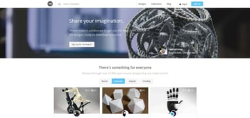 Imagem de Melhores sites para baixar modelos 3D gratuitos: YouMagine