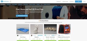 Imagem de Melhores sites para baixar modelos 3D gratuitos: Pinshape