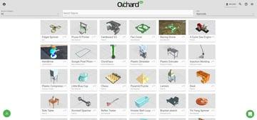 Imagen de Modelos 3D gratuitos: Orchard