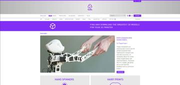 Imagem de Melhores sites para baixar modelos 3D gratuitos: Cults