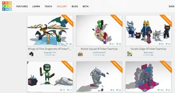 Imagem de Melhores sites para baixar modelos 3D gratuitos: TinkerCAD Things