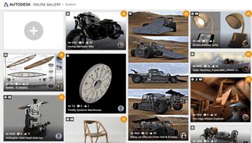 Imagem de Melhores sites para baixar modelos 3D gratuitos: Galeria online da Autodesk