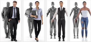 Imagem de Melhores sites para baixar modelos 3D gratuitos: Renderpeople