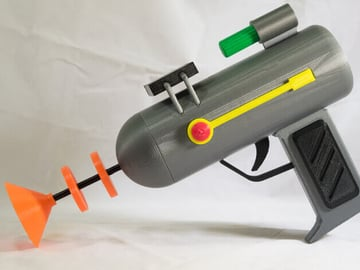 Image of Rick and Morty Toys, Figures & Collectibles to 3D Print: Rick's Laser Gun