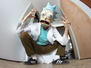 Image of Rick and Morty Toys, Figures & Collectibles to 3D Print: Rick Sanchez Mask