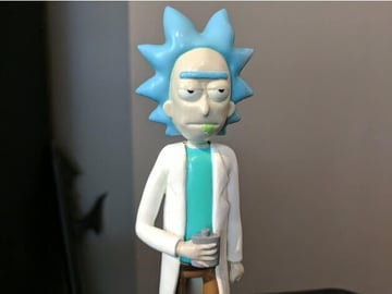 Image of Rick and Morty Toys, Figures & Collectibles to 3D Print: Rick Sanchez