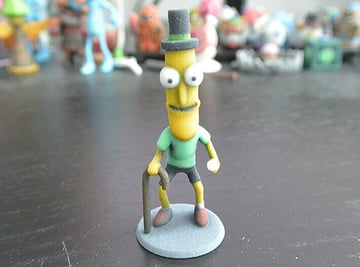 Image of Rick and Morty Toys, Figures & Collectibles to 3D Print: Mr Poopy Butthole