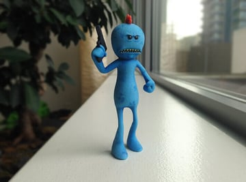 Image of Rick and Morty Toys, Figures & Collectibles to 3D Print: Day Old Meeseeks