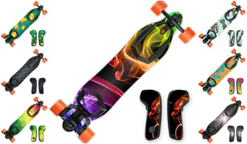 Image of Best Boosted Board Accessories: Vinyl Skin Decals