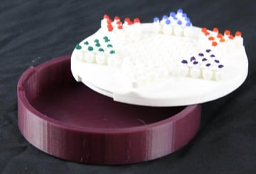 Image of DIY Board Games You Can Make with a 3D Printer: Chinese Checkers