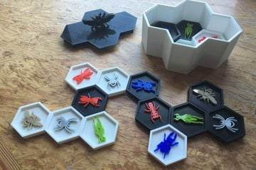 Image of DIY Board Games You Can Make with a 3D Printer: Hive