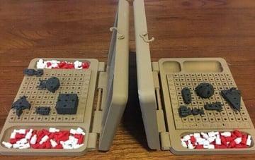 Image of DIY Board Games You Can Make with a 3D Printer: Battle Fleet Star Wars vs. Star Trek Battleship
