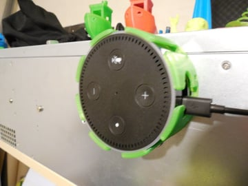Image of The Best Echo Dot Accessories to 3D Print: Skeleton Mount