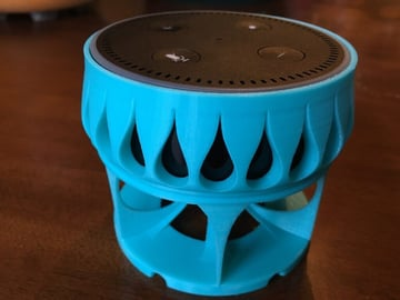 Image of The Best Echo Dot Accessories to 3D Print: Acoustic Stand