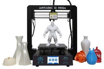 Imagem de Melhor impressora 3D barata por menos de USD $300: Anycubic i3 Mega