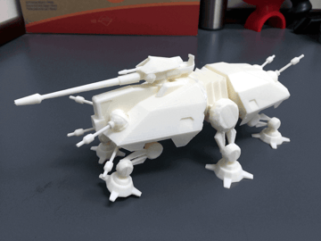 Image of Star Wars 3D Models to 3D Print: AT-TE Walker